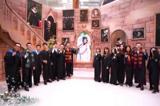Lumea magică a lui Harry Potter a prins viață într-un mare aeroport internațional