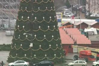 Ce decorațiuni pregătesc autoritățile de Crăciun în Capitală și în țară