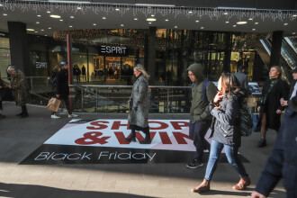 În SUA se anunță cele mai mari vânzări de Black Friday de după criza financiară