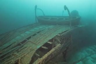 """Misterul """"navei blestemate"""" a fost elucidat. Epava, descoperită la 90 de ani după naufragiu"""