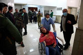 Atac cu gaze toxice în oraşul sirian Alep soldat cu zeci de răniţi. Imagini șocante. VIDEO
