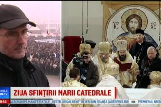 Reprezentantul Patriarhiei explică ce au voie să facă în Catedrală cei care participă la sfințire