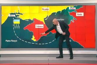 Cătălin Radu Tănase, despre scena confruntării Rusia - Ucraina în Marea Azov