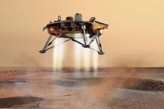 """Reușită uriașă pentru NASA: sonda InSight a ajuns în """"siguranță"""" pe Marte. VIDEO"""