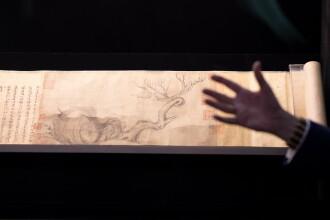 Suma uriașă cu care s-a vândut o pictură în cerneală, veche de 1000 de ani