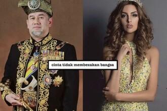 Miss Moscova s-a măritat cu Regele Malaeziei după ce s-a convertit la islam. Diferența de vârstă