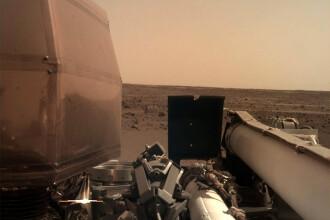 Cum au sărbătorit americanii ajungerea Sondei InSight pe Marte