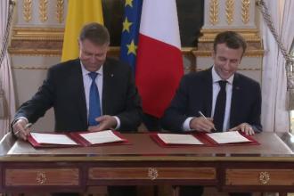 Franța sprijină România pentru aderarea la Schengen. Declarația semnată de Macron