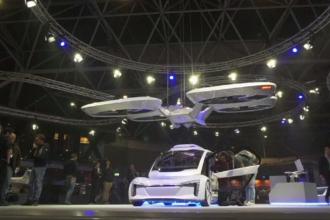 Cum funcționează ultima mașină zburătoare prezentată la Săptămâna Dronelor de la Amsterdam