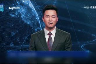 """Crainic TV virtual folosit pentru prima dată în China: """"Eu nu am nevoie de odihnă"""""""