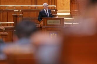 """Discursul lui Dragnea în Parlament cu ocazia celebrării Centenarului: """"Să încetăm acest război"""""""