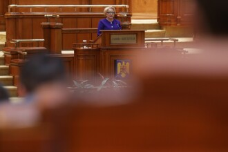 Discursul lui Dăncilă în Parlament cu ocazia celebării Centenarului: Să fim români uniţi