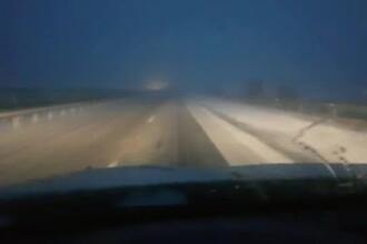 O porțiune din Autostrada Soarelui a fost închisă. 7 mașini s-au ciocnit