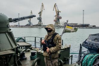 Rusia respinge acuzațiile de blocadă a Mării Azov.