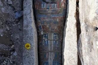 Sarcofage vechi de peste 3000 de ani, găsite la sud de Cairo. Surpriza trăită de arheologi