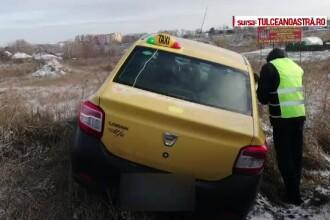 Taximetrist găsit în spatele unui depozit, bătut şi aproape îngheţat. Omul nu-şi mai amintea ce a păţit