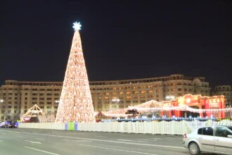 Cum arată Târgul de Crăciun din București în acest an. Programul pentru vizitarea Casei Moșului