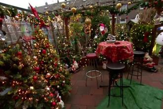 Cum arată apartamentul unor germani care încep pregătirile de Crăciun cu o lună înainte