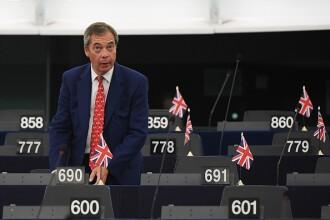 Partidul Brexit, condus de Nigel Farage, începe campania electorală. Reacția lui Trump