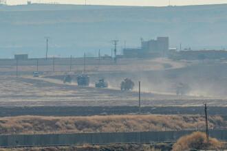 Militari ruşi şi turci au început patrularea în nordul Siriei. VIDEO