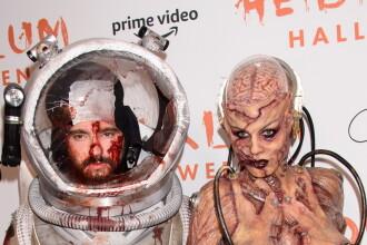 Heidi Klum s-a transformat de Halloween în zombie. Foto cu costumul șocant