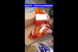 Doi bucureșteni au ajuns pe mâna DIICOT după ce au ridicat un colet din Spania