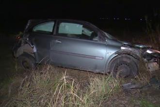Accident grav în Dâmbovița. Tânără în stare critică după ce a încercat să evite un vițel