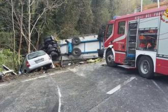 Un șofer român de TIR a fost condamnat în Italia să plătească despăgubiri de 1 mil. €