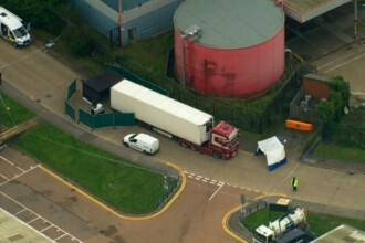 """Noi arestări în cazul """"camionului morții"""" din Anglia. Anunțul Poliției din Vietnam"""