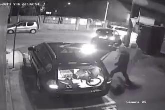 Jaf în 9 secunde, în Cluj. Ce au luat hoţii din maşina unui om de afaceri