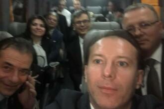 Selfie după învestire. Fotografia publicată de membrii noului Guvern, pe Facebook