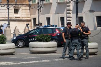 O româncă a lovit un polițist, în Italia, băgându-l în spital