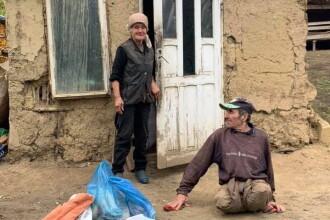 Condițiile îngrozitoare în care locuiau doi soți. Au primit o casă nouă în prag de iarnă