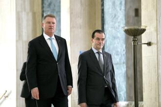 Iohannis, la prima ședință a Guvernului Orban: Situația în unele ministere este foarte proastă
