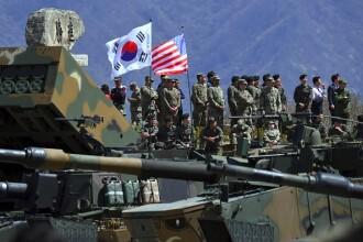 SUA și Coreea de Sud, exerciții militare comune. Reacția Coreei de Nord