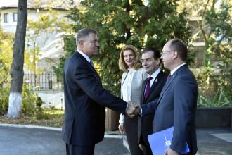 Preşedintele Iohannis s-a întâlnit la Cotroceni cu premierul Orban şi cu miniştrii de Finanţe şi de Externe