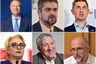 LISTA candidaților la alegerile prezidențiale 2019. În ce ordine apar pe buletinele de vot