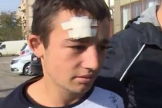 Un tânăr de 18 ani, reținut de polițiști după ce a furat o mașină pe care a găsit-o cu cheile in contact