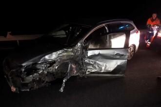 Accident cu 4 mașini în Caransebeș. A fost activat PLANUL ROŞU