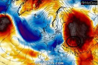 Anomalie meteo în România. Temperaturile se schimbă și cu 20 de grade