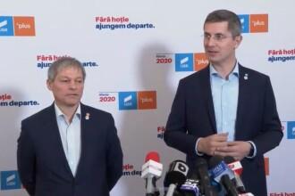 Dan Barna și Dacian Ciolos s-au înțeles: USR și PLUS vor fuziona