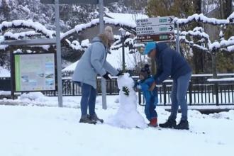 Val polar în una din cele mai călduroase zone din Europa. Cum au reacționat localnicii