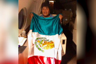 Mexicul îi acordă azil politic lui Evo Morales. Președintele demisionar a părăsit Bolivia