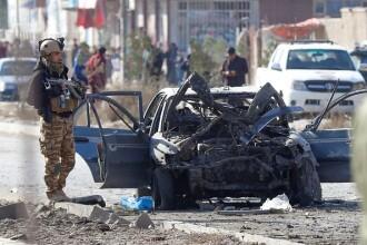 Atac cu mașină-capcană în Kabul. Cel puțin șapte morți și patru străini răniți