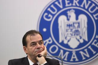Premierul a anunțat că cea mai mare plăcere a sa a fost să o demită pe Olguța Vasilescu