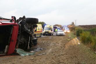 Accident teribil în Slovacia. Cel puțin 13 persoane și-au pierdut viața