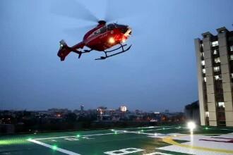 A fost testat primul heliport funcţional al unui spital de stat din Bucureşti