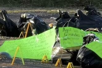 Descoperire macabră pe o autostradă din Mexic. Ce a găst poliția în mai mulți saci