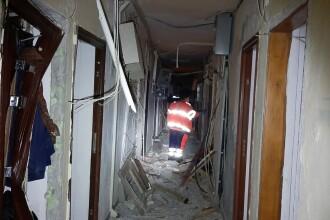 Explozie puternică într-un bloc din Tulcea. Patru persoane au fost rănite