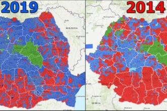 INTERACTIV. Cum s-a schimbat votul românilor în ultimii cinci ani?